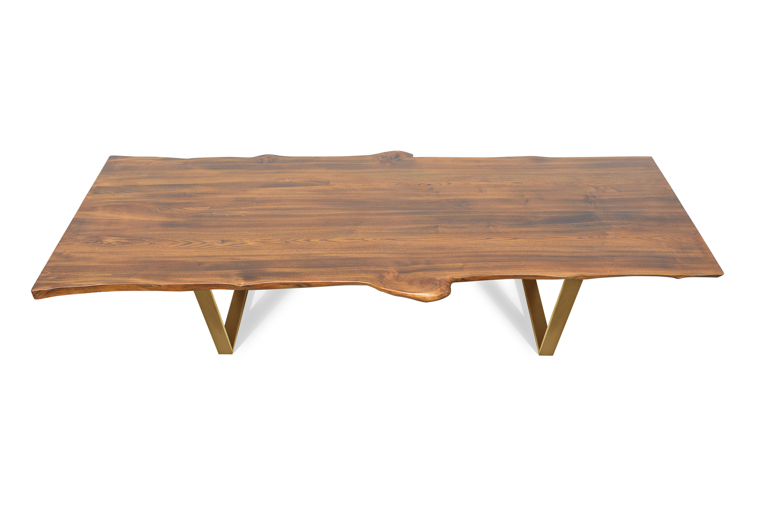 Etz & Steel Live Edge Cognac Table Gold Base 1.jpg