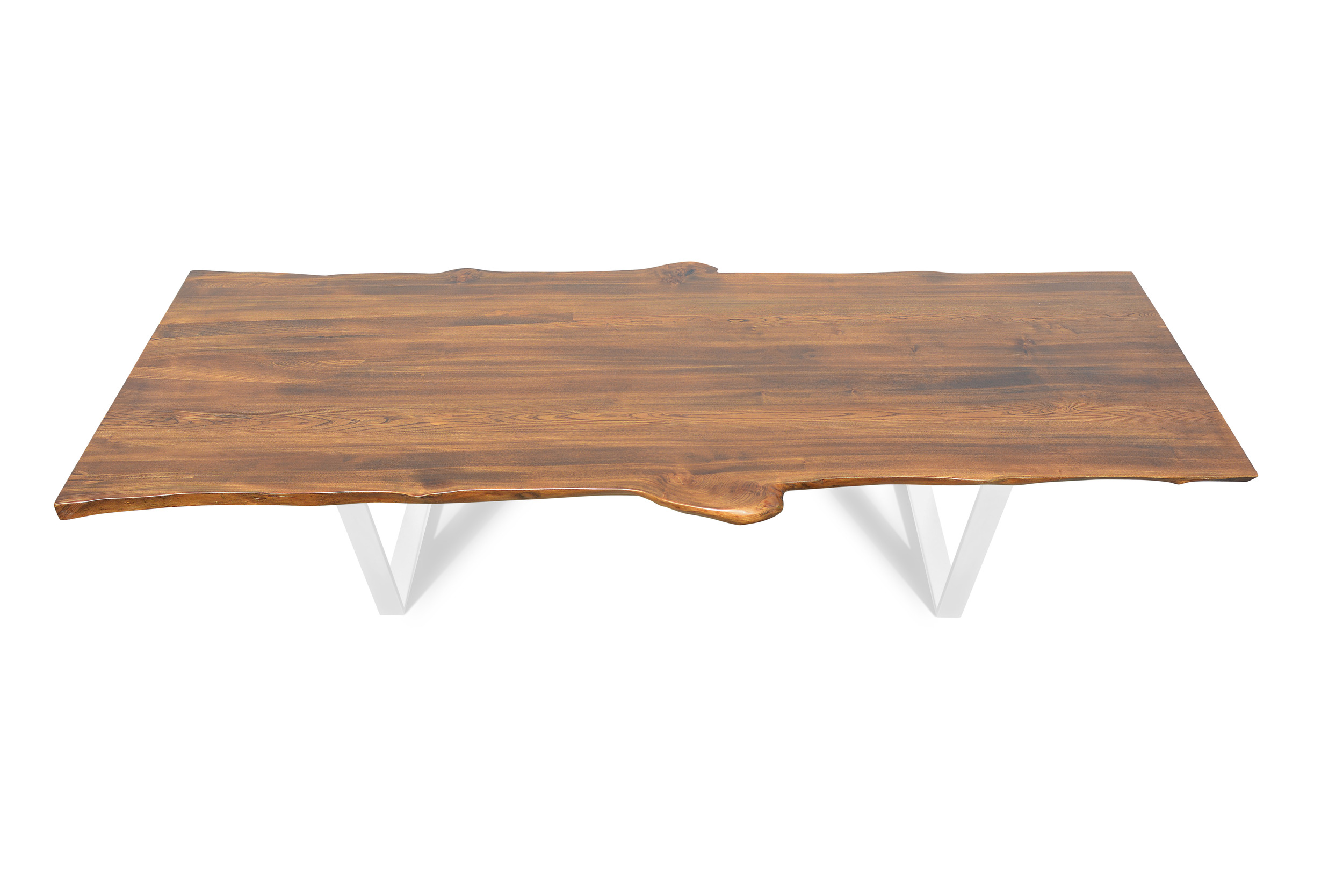 Etz & Steel Live Edge Cognac Table Pearl White Base 1.jpg