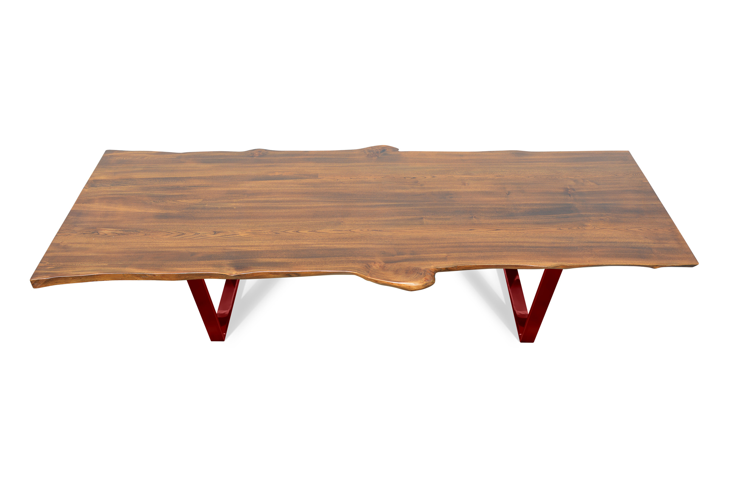 Etz & Steel Live Edge Cognac Table Red Base 1.jpg