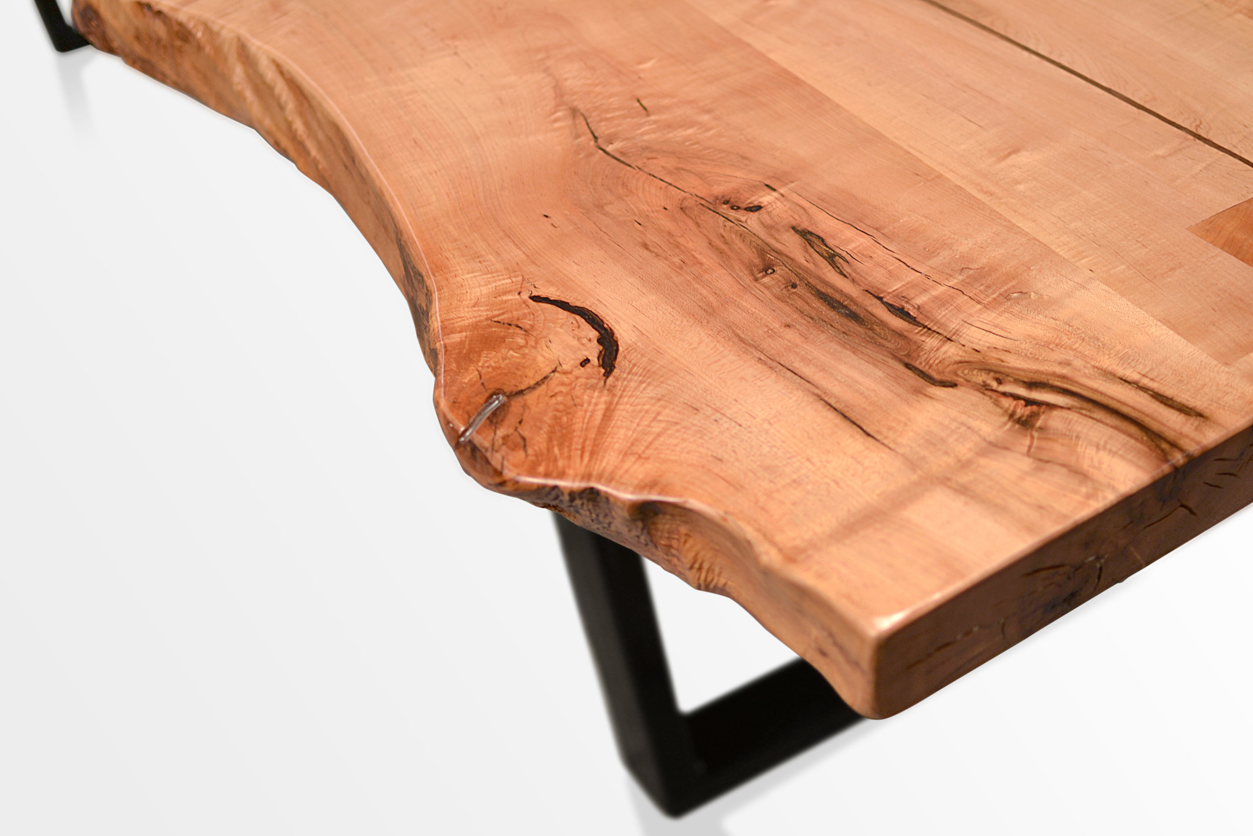 Etz & Steel Rex Live Edge Table Close Up 13.JPG