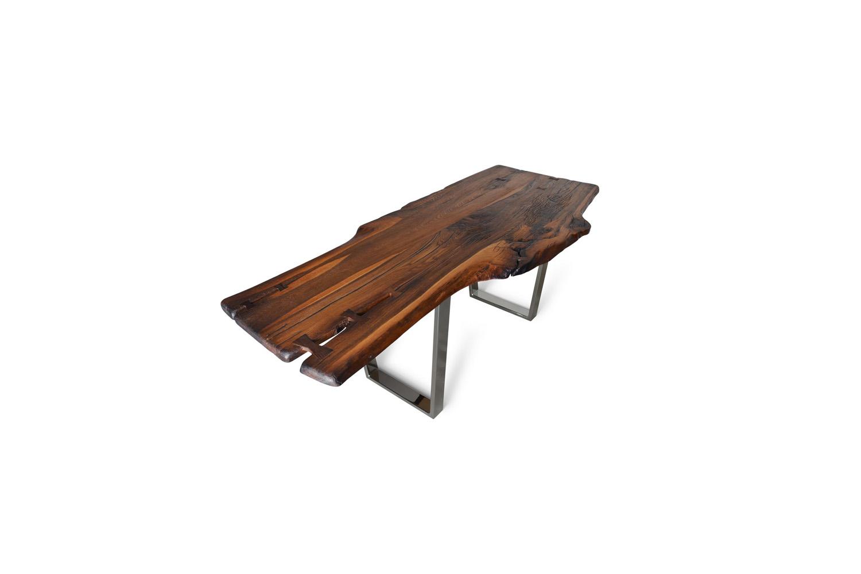 Etz & Steel Brown Beauty Live Edge Table Chrome Base 1.jpg