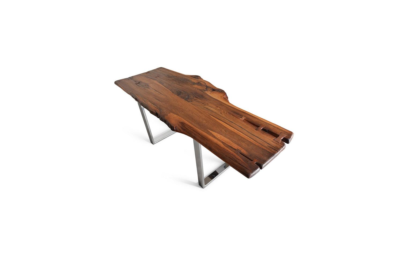 Etz & Steel Brown Beauty Live Edge Table Chrome Base 2.jpg