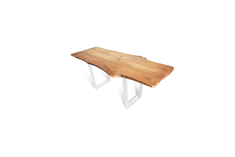 Etz & Steel King Ash Live Edge Table Pearl Sparkle White Base 1.jpg