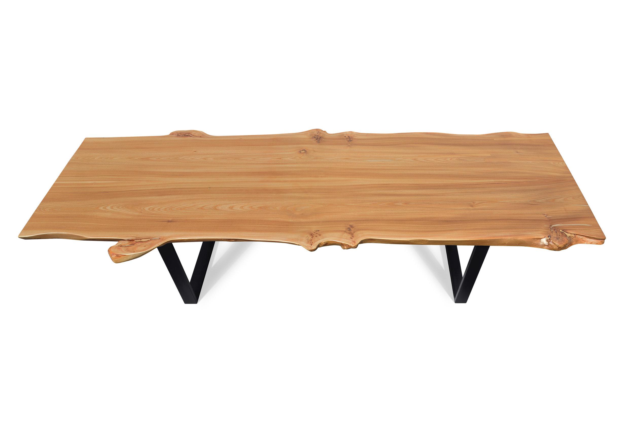 Etz & Steel Wave Live Edge Table Black Base 1.JPG