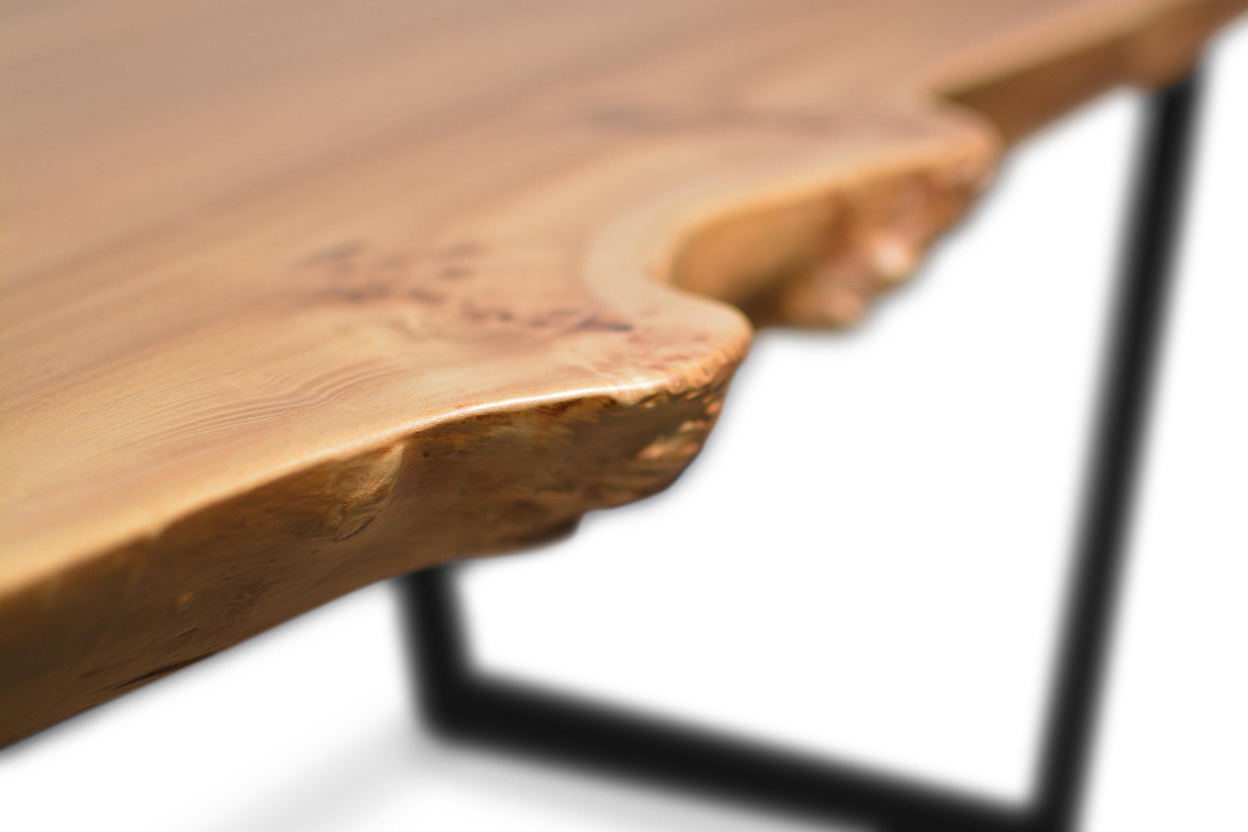 Etz & Steel Wave Live Edge Table Close Up 2.JPG
