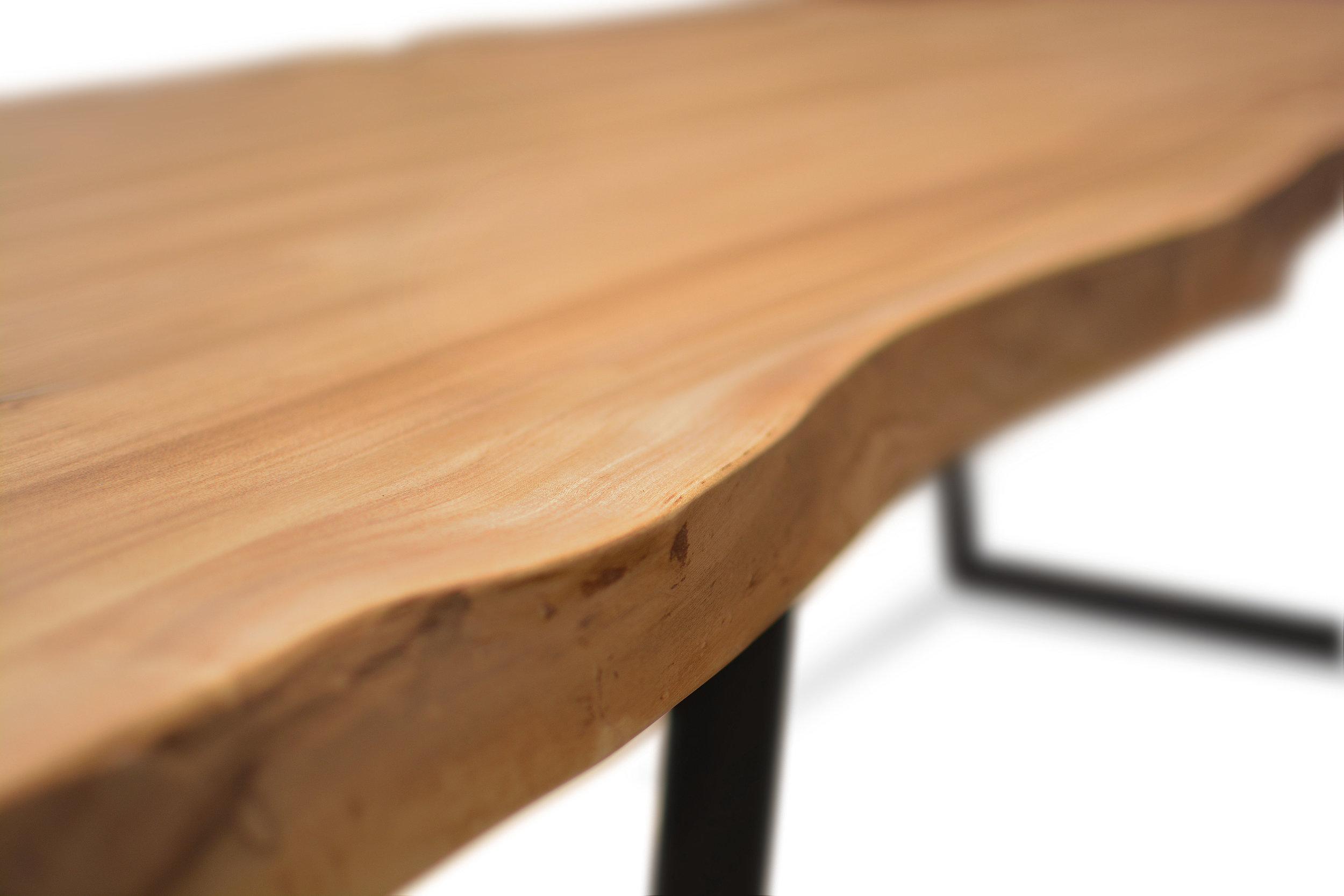 Etz & Steel Wave Live Edge Table Close Up 9.JPG