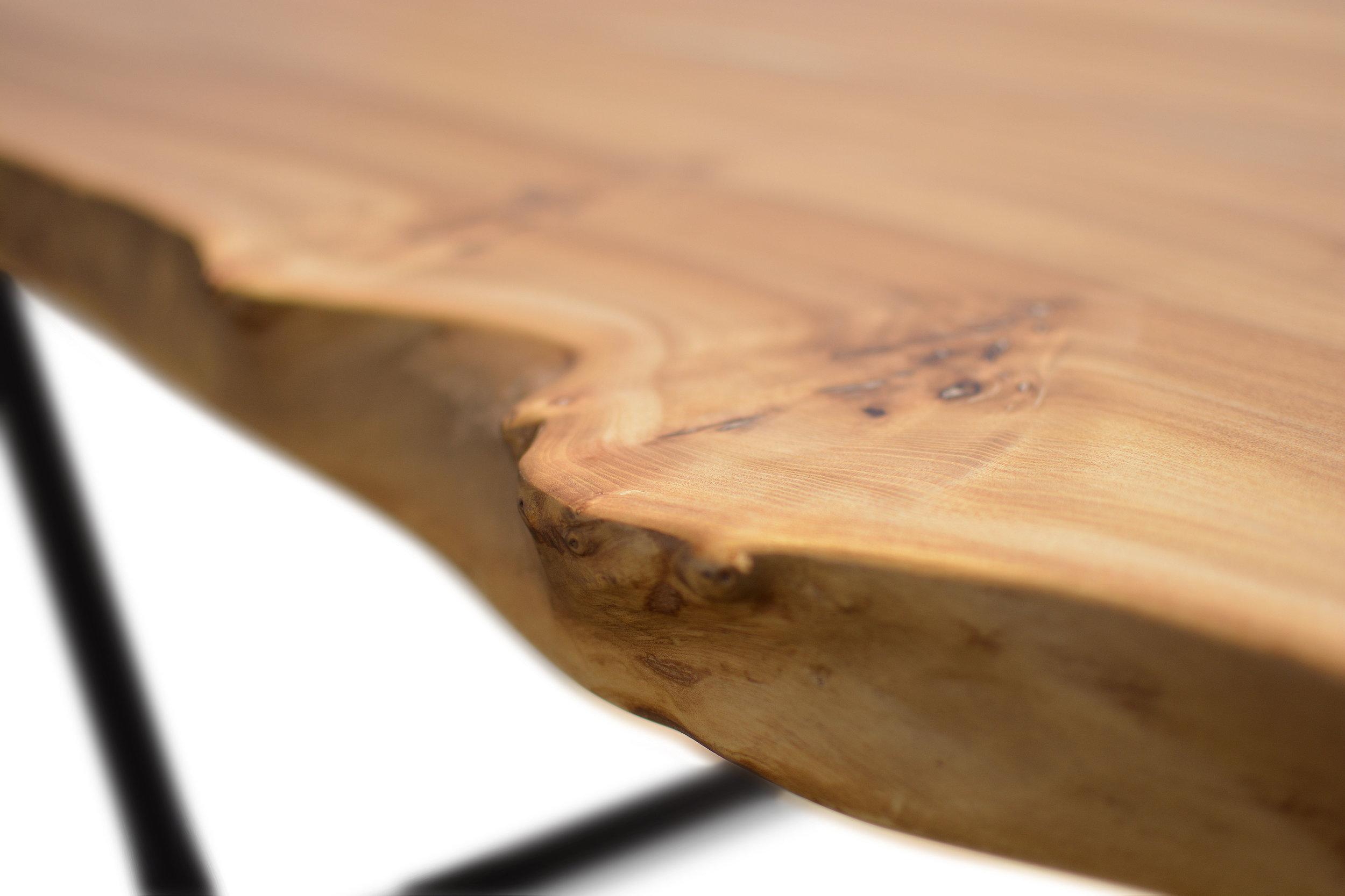 Etz & Steel Wave Live Edge Table Close Up 11.JPG