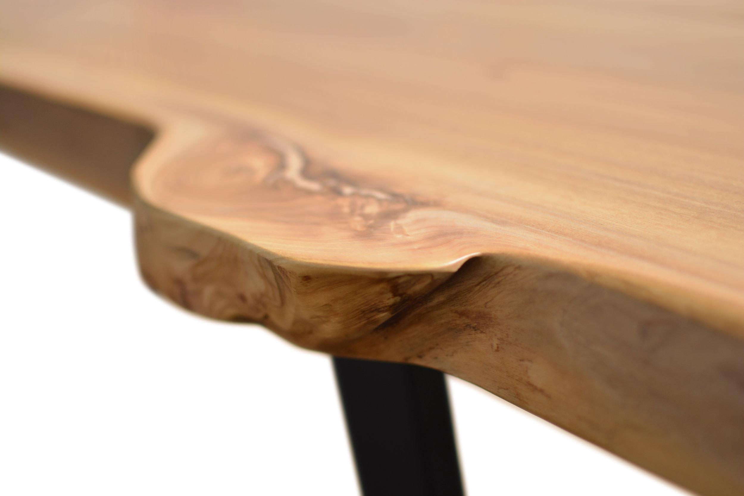Etz & Steel Wave Live Edge Table Close Up 13.JPG