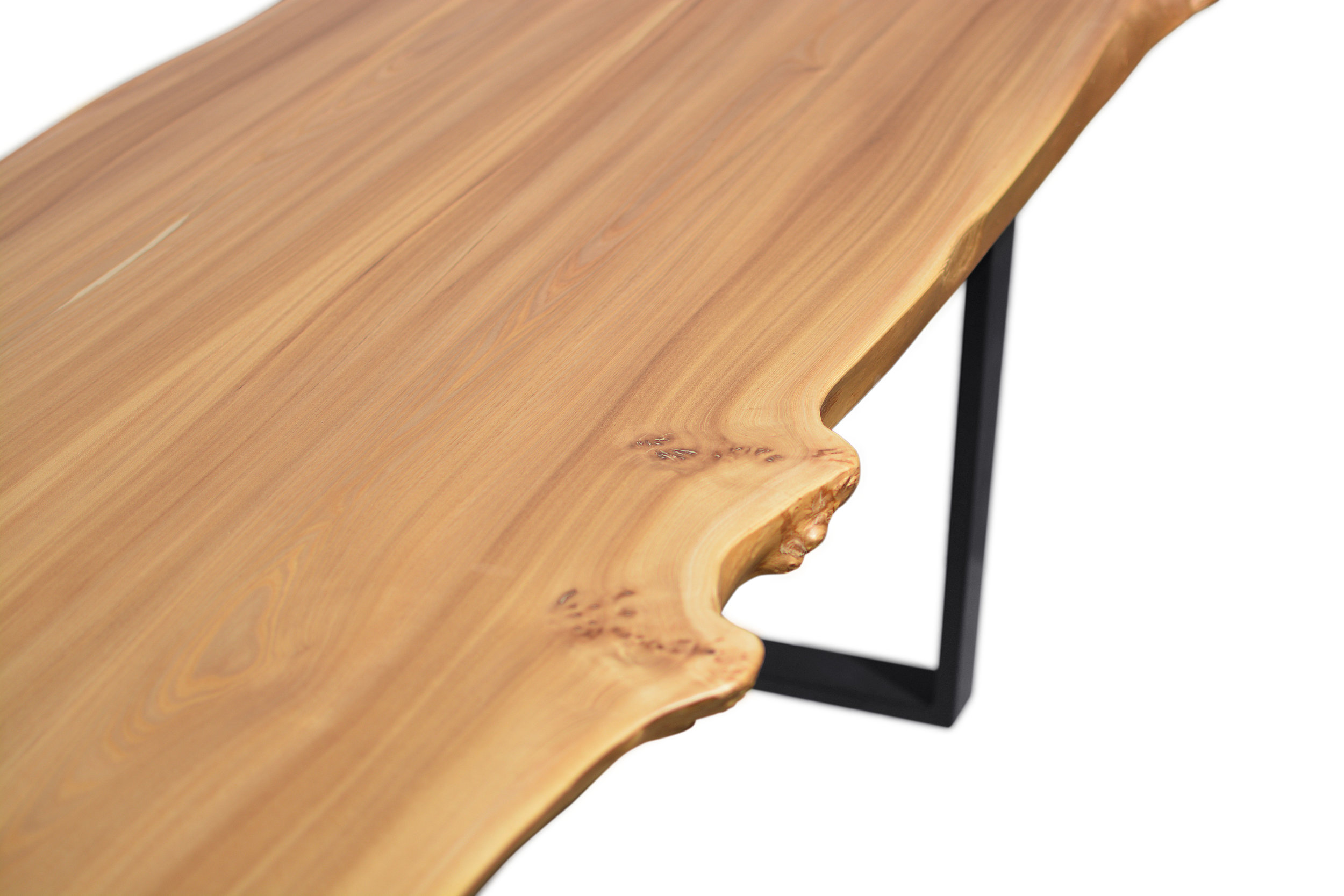 Etz & Steel Wave Live Edge Table Close Up 18.JPG