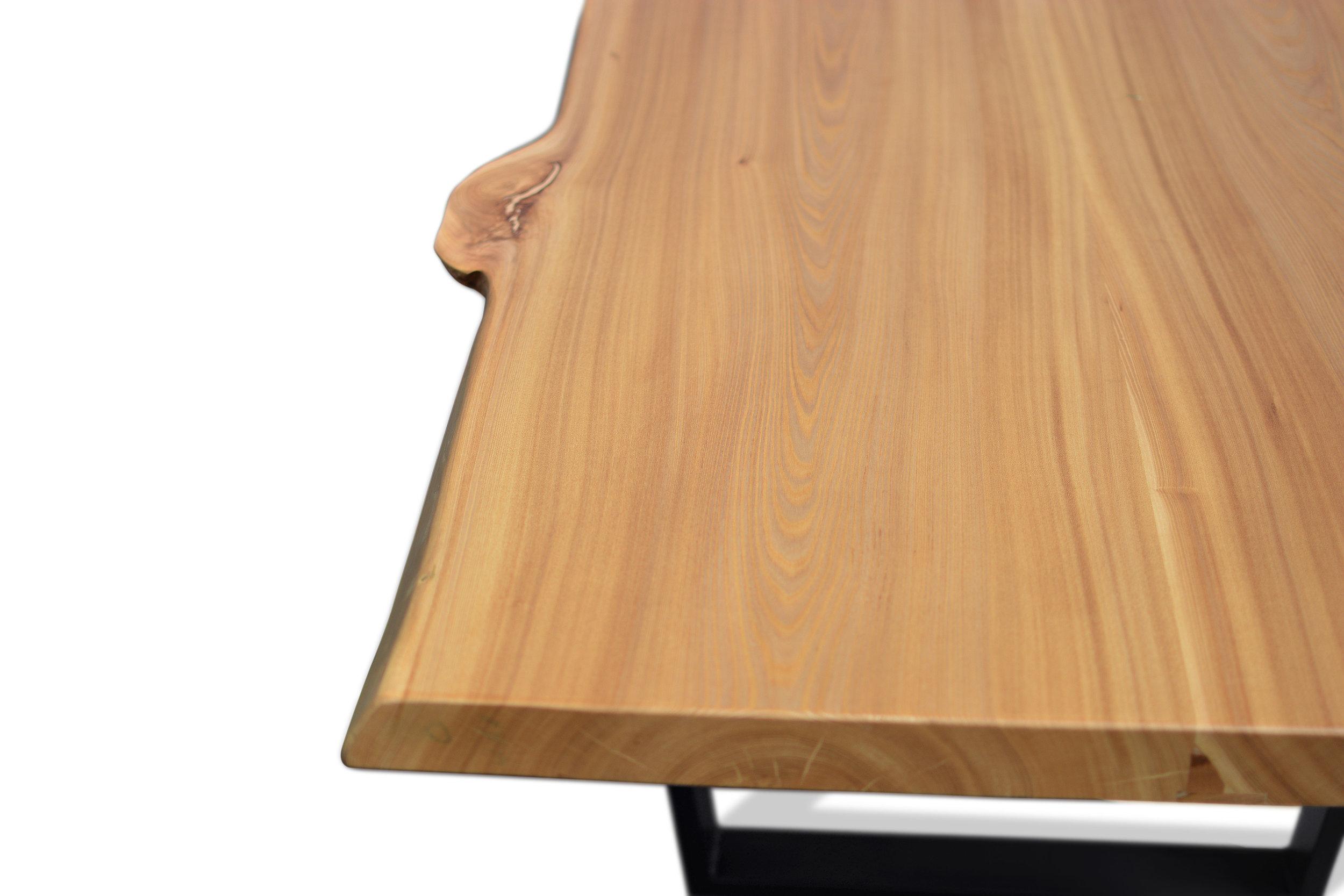 Etz & Steel Wave Live Edge Table Close Up 20.JPG