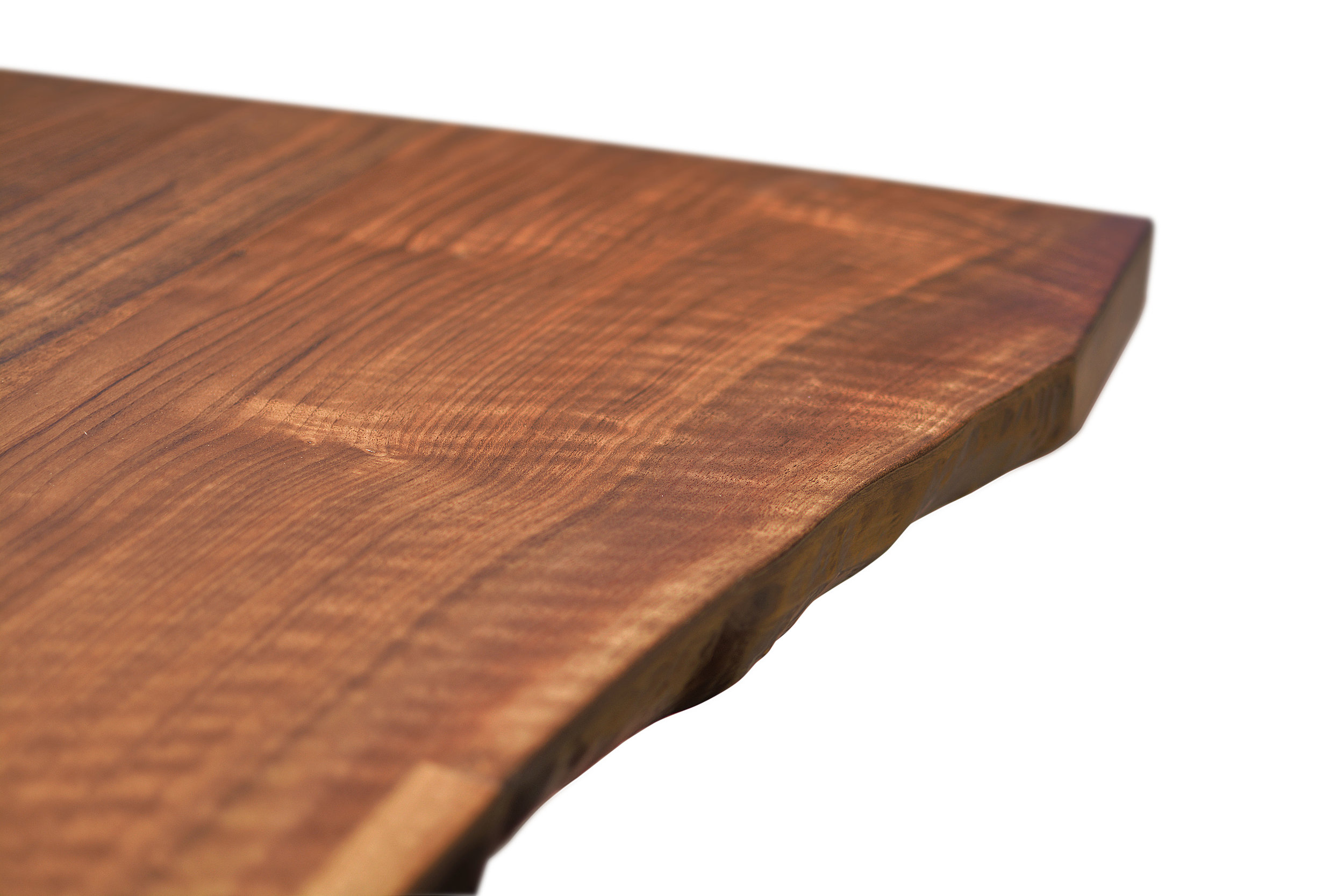 Etz & Steel Iris Live Edge Walnut Coffee Table Close Up 8.JPG