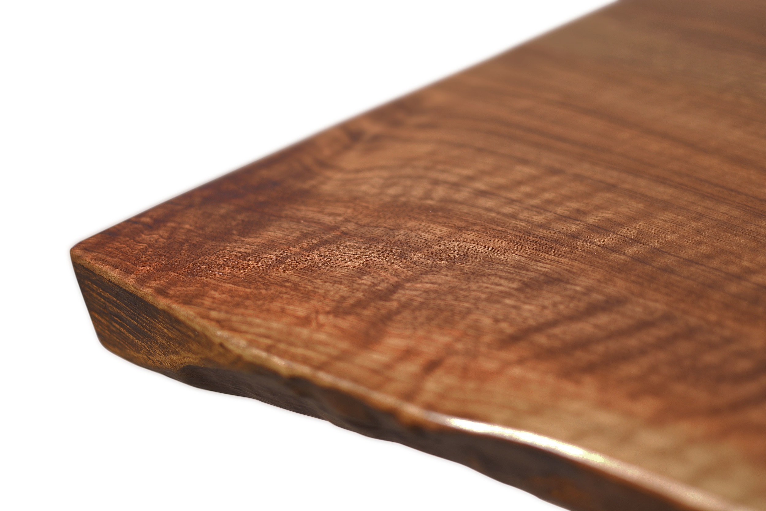 Etz & Steel Iris Live Edge Walnut Coffee Table Close Up 11.JPG