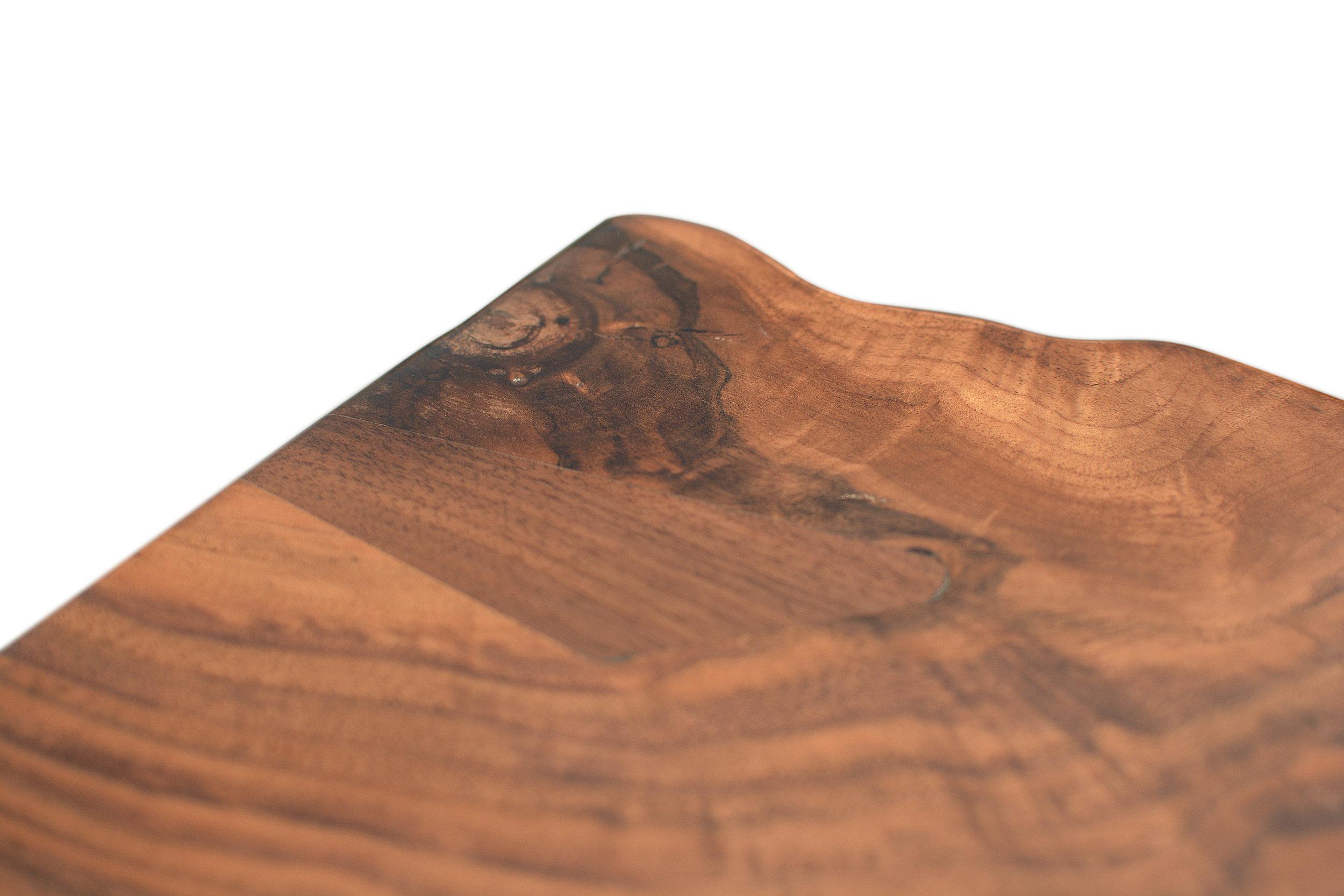 Etz & Steel Hermes Live Edge Walnut Table Close Up 16.JPG