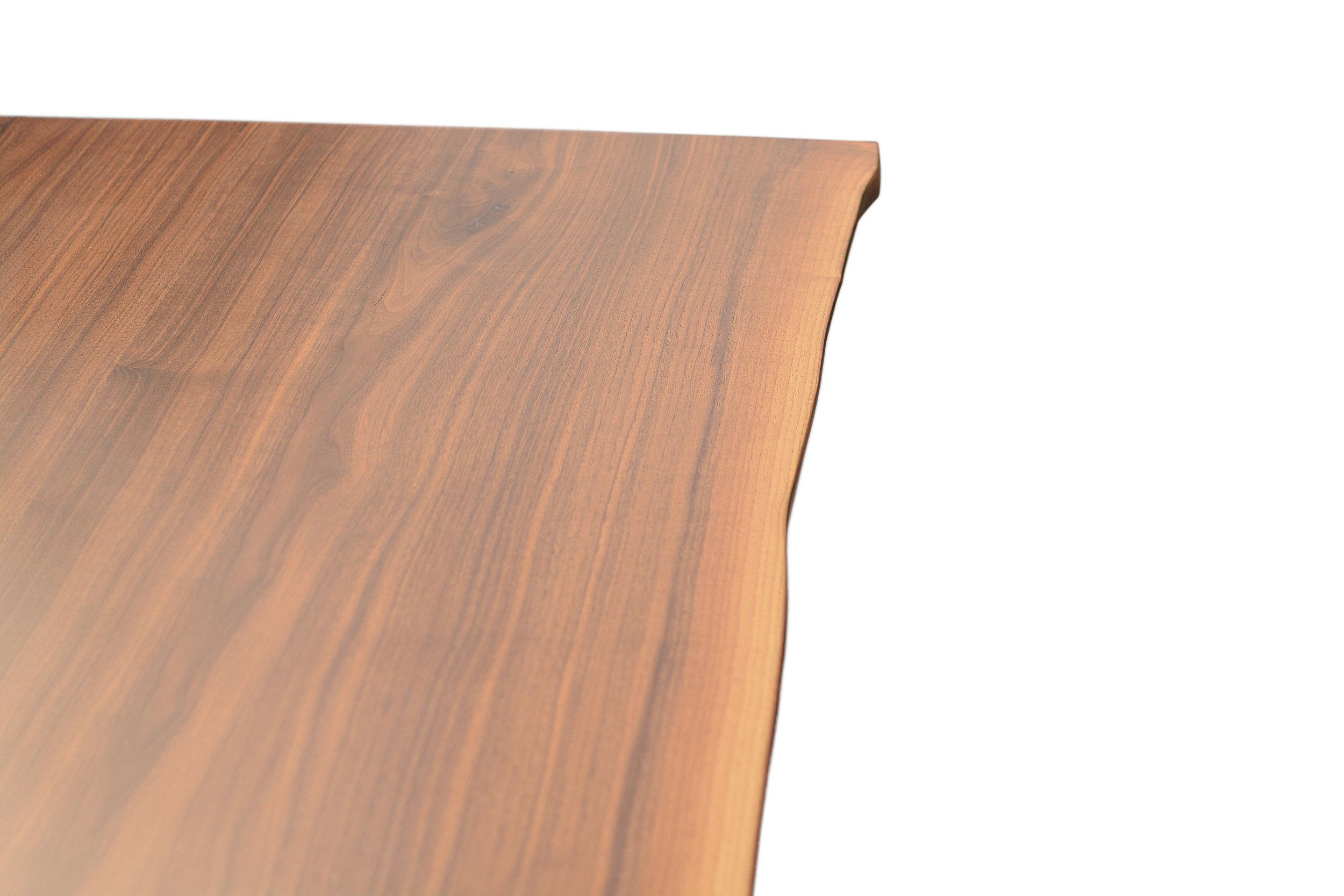 Etz & Steel Hermes Live Edge Walnut Table Close Up 18.JPG