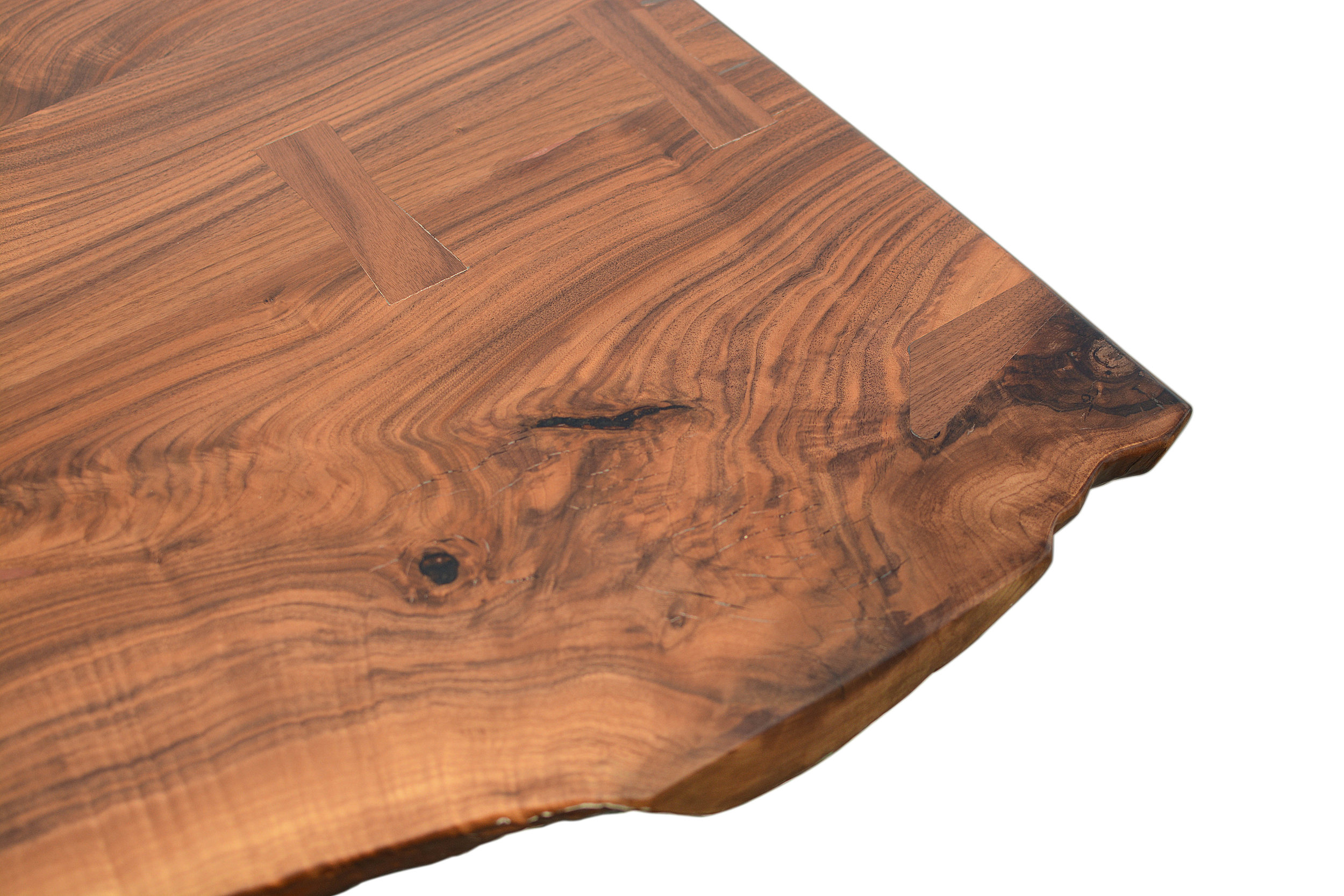 Etz & Steel Hermes Live Edge Walnut Table Close Up 20.JPG