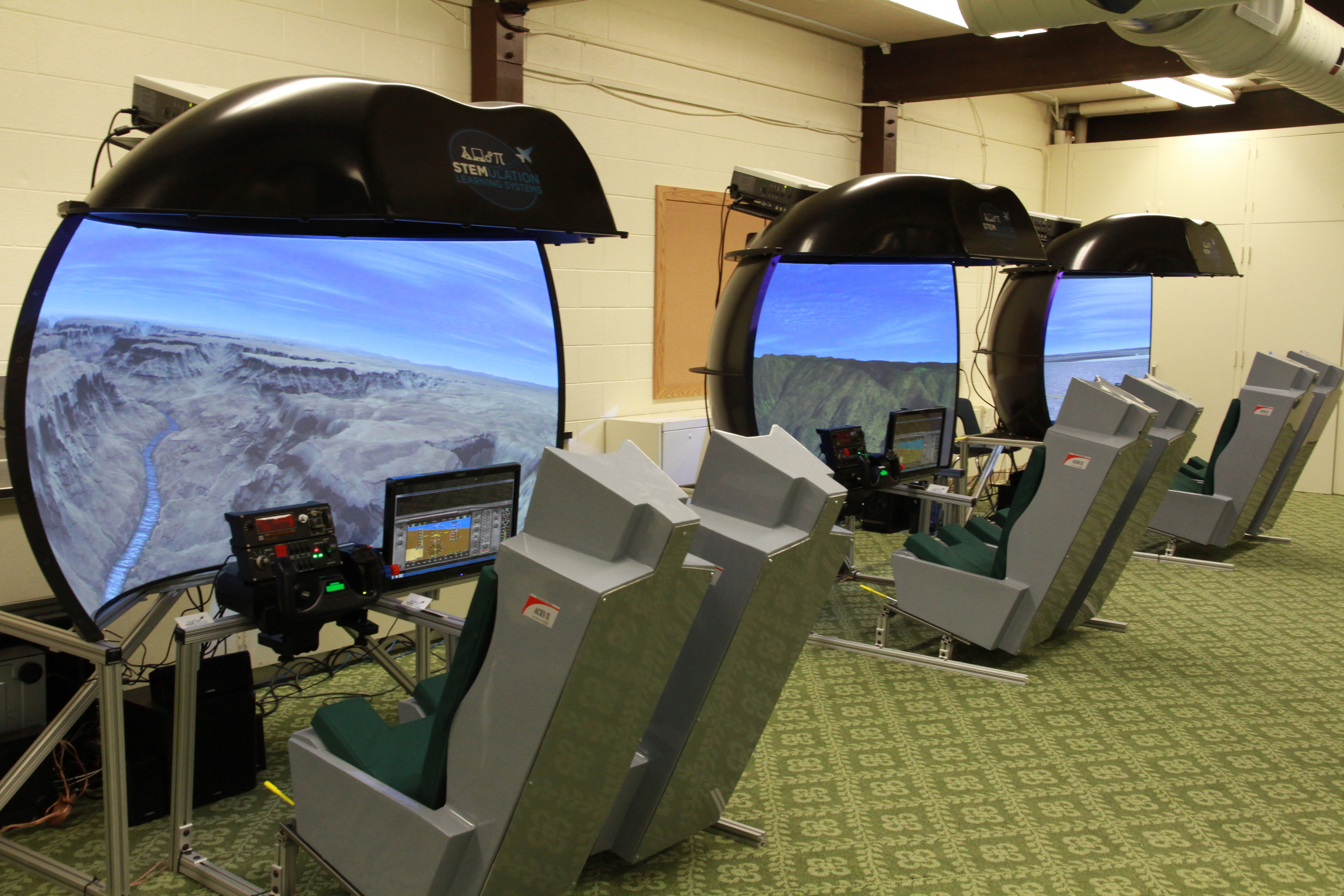 Dual Seat Flight Simulators (DSFS)