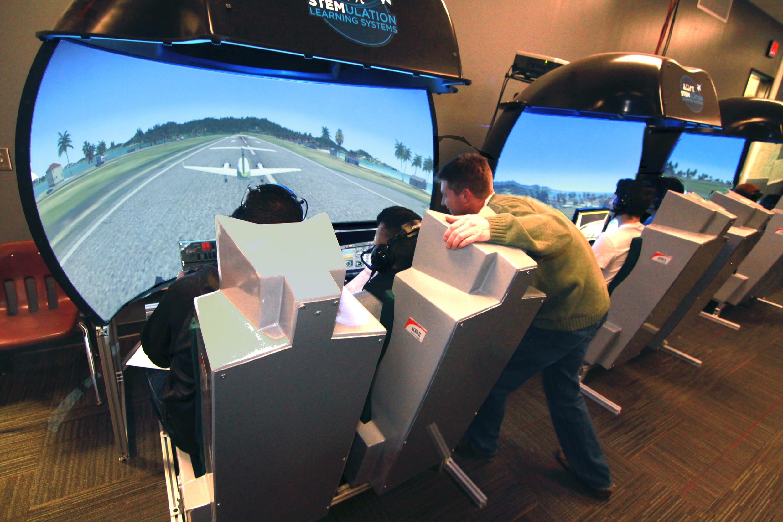 Dual Seat Flight Simulators (DSFS)