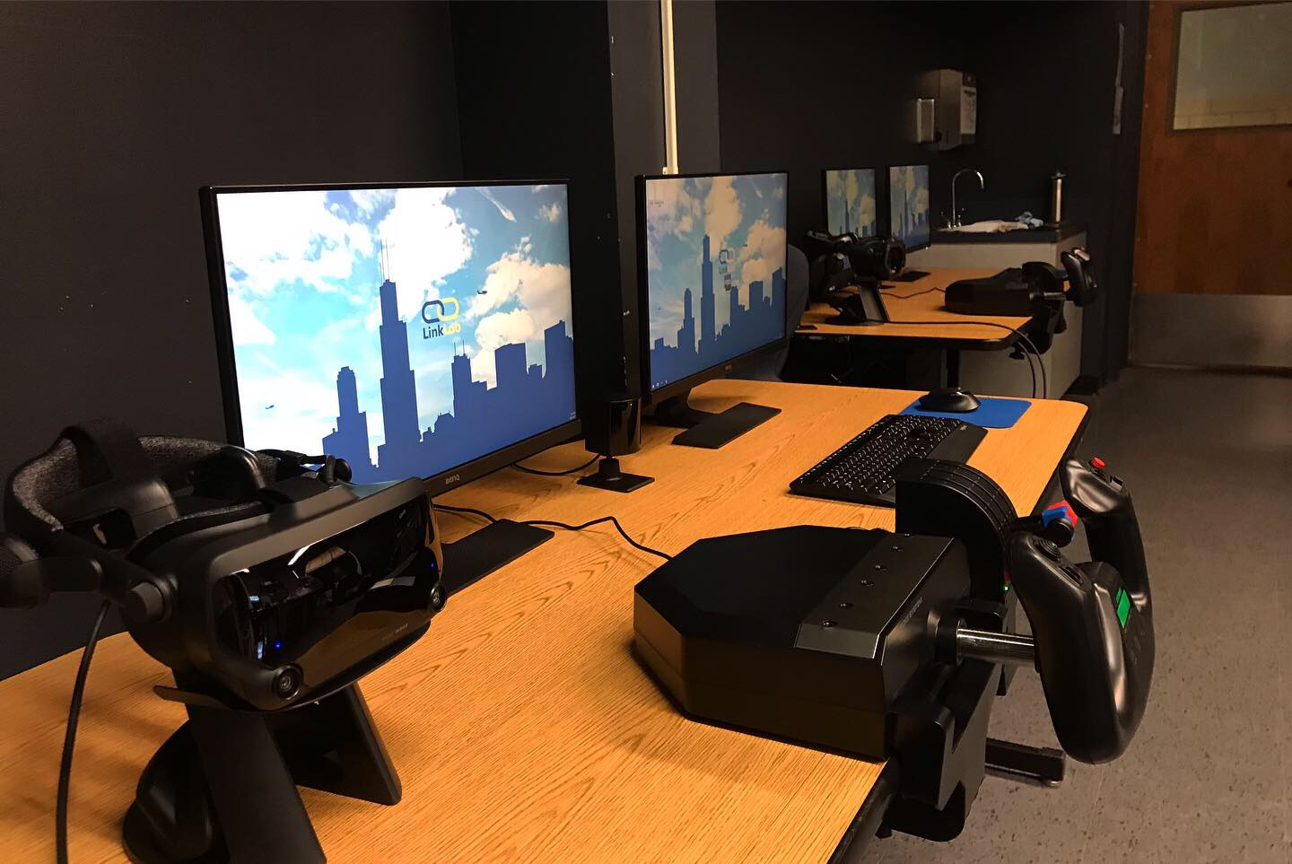 LinkLab VR Stations