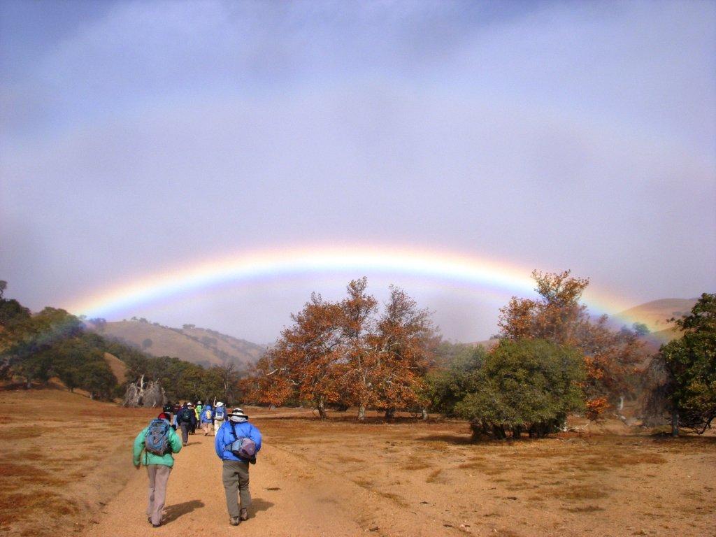 Rainbow over Big Syacamore Cyn Hike J. Browne.jpg