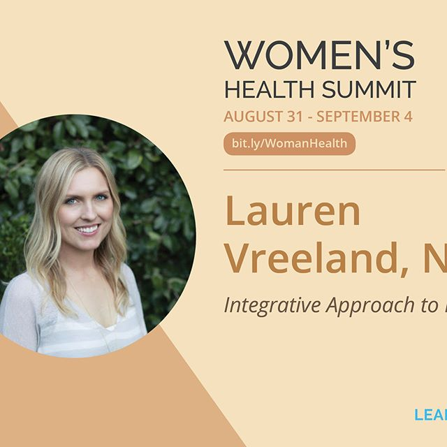 I am excited to join the faculty for the LearnSkin's online Women's Health Summit from August 31st - September 4th! The Women's Health Summit brings together leading medical experts with a focus on integrative approaches to women's health. It is a free, five day online interdisciplinary series hosted by Anne Kennard, DO FACOG and Raja Sivamani, MD MS AP.  Topics include an integrative approach to pregnancy and lactation, PCOS, bone health, hair thinning and loss, menstrual pain and endometriosis, Ayurvedic approaches to women's health, anti-inflammatory/functional foods and diets, and more!  Please feel free to share!  #LearnSkin #TheFutureIsIntegrative #womenshealth