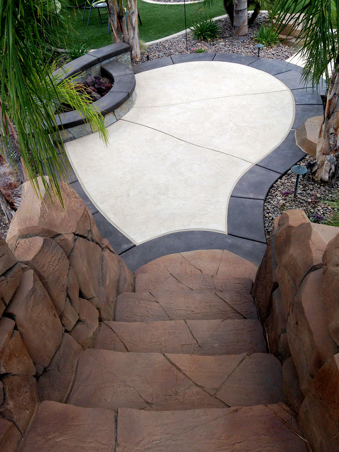 Rock Staining