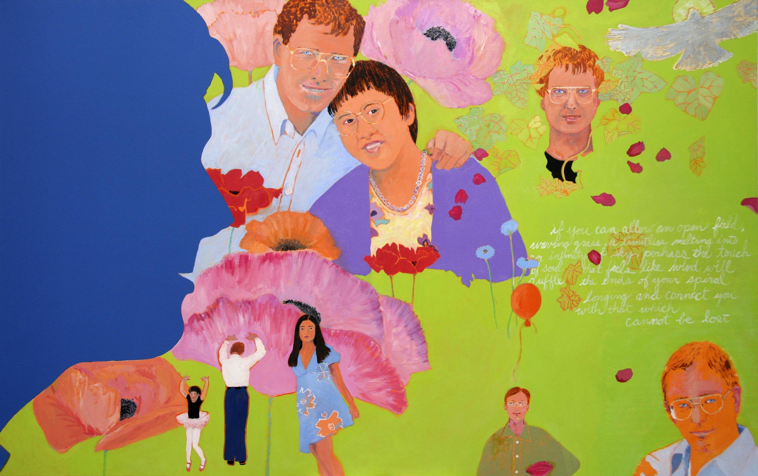 "Brian: A Eulogy, oil on canvas, 42"" x 66"""