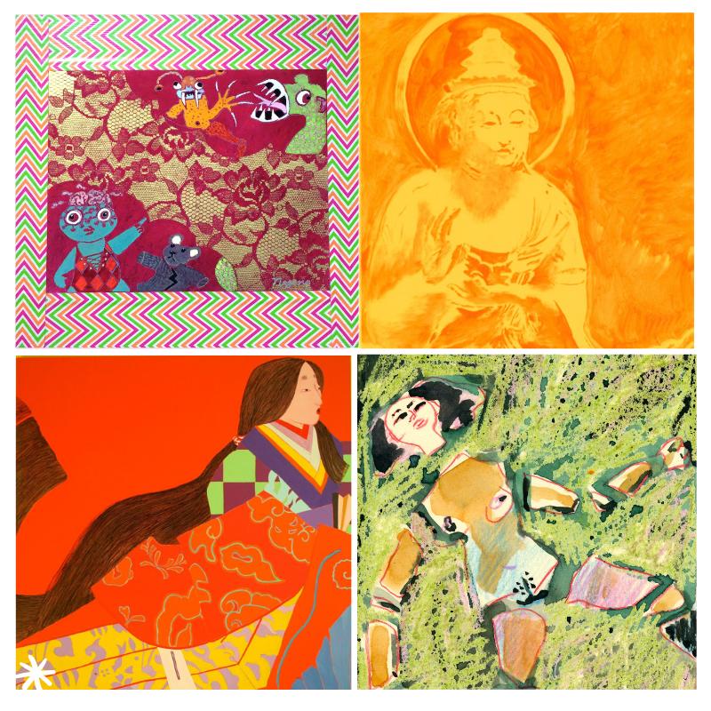 Hungry ghosts, Buddha illustration, Lady M series, #MeToo series
