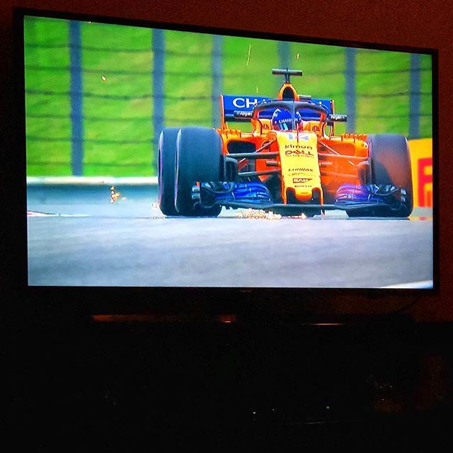 """Formula1 the drive to survive"" Spending my birthday evening with  a friend getting myself worked up about opening track day with Audi at The Ridge in two weeks- hoping for dry pavement, cool breaks and warm tires....(but that's the hope all season!  #Netflix  #formula1 #fernandoalonso #formula1thedrivetosurvive #thedrivetosurvive #bmw #m4 #tracking #girlracer #audi #pudgetsoundbmw #bmwseattle 🏎💨"