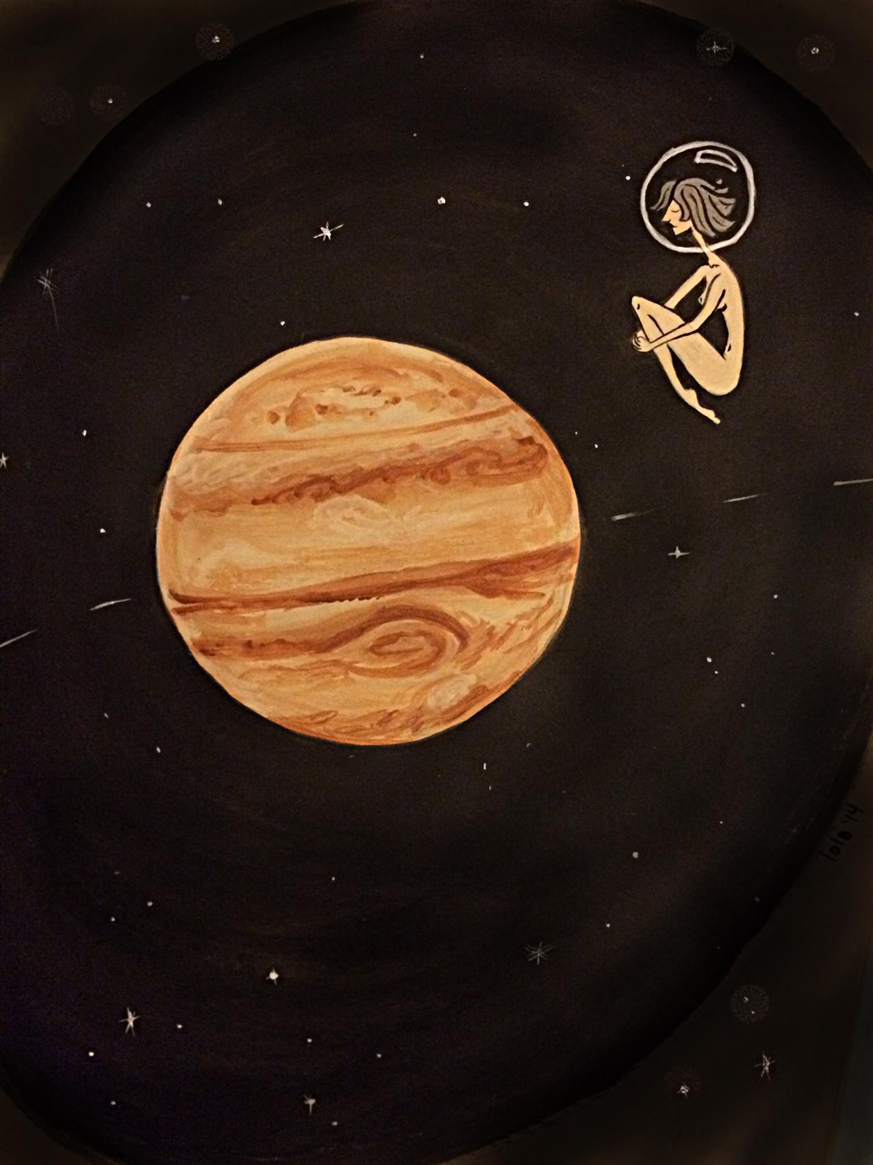 """""""Orbiting Jupiter"""""""