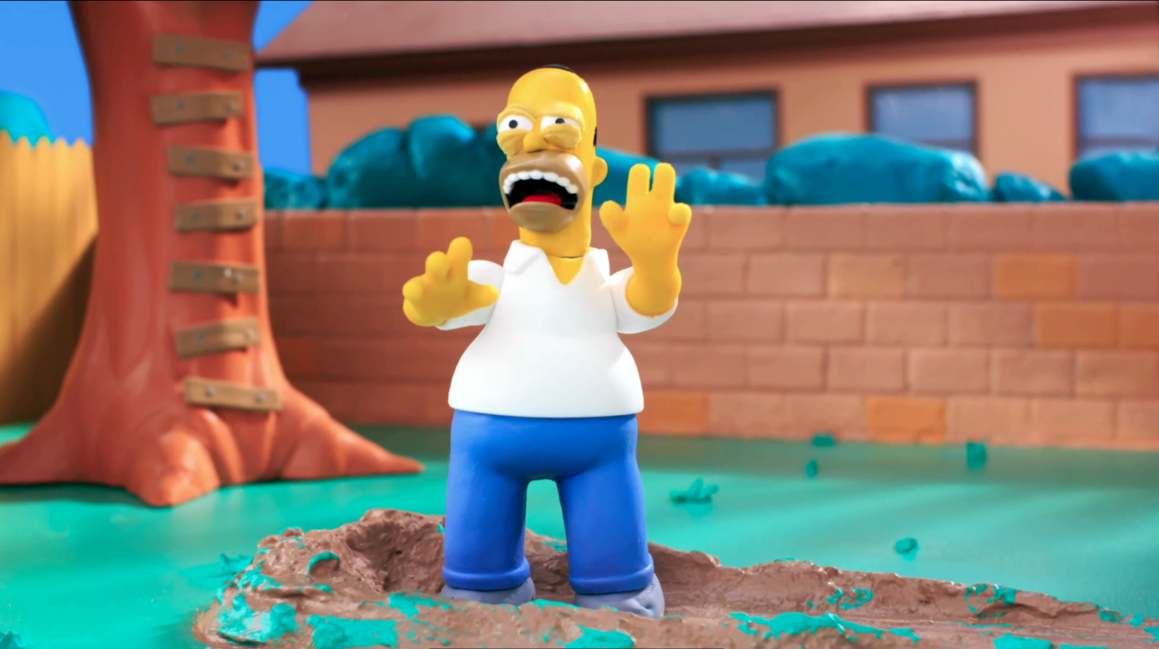 Still,  The Simpsons - Robot Chicken  couch gag. Stoopid Buddy Stoodios, 2013