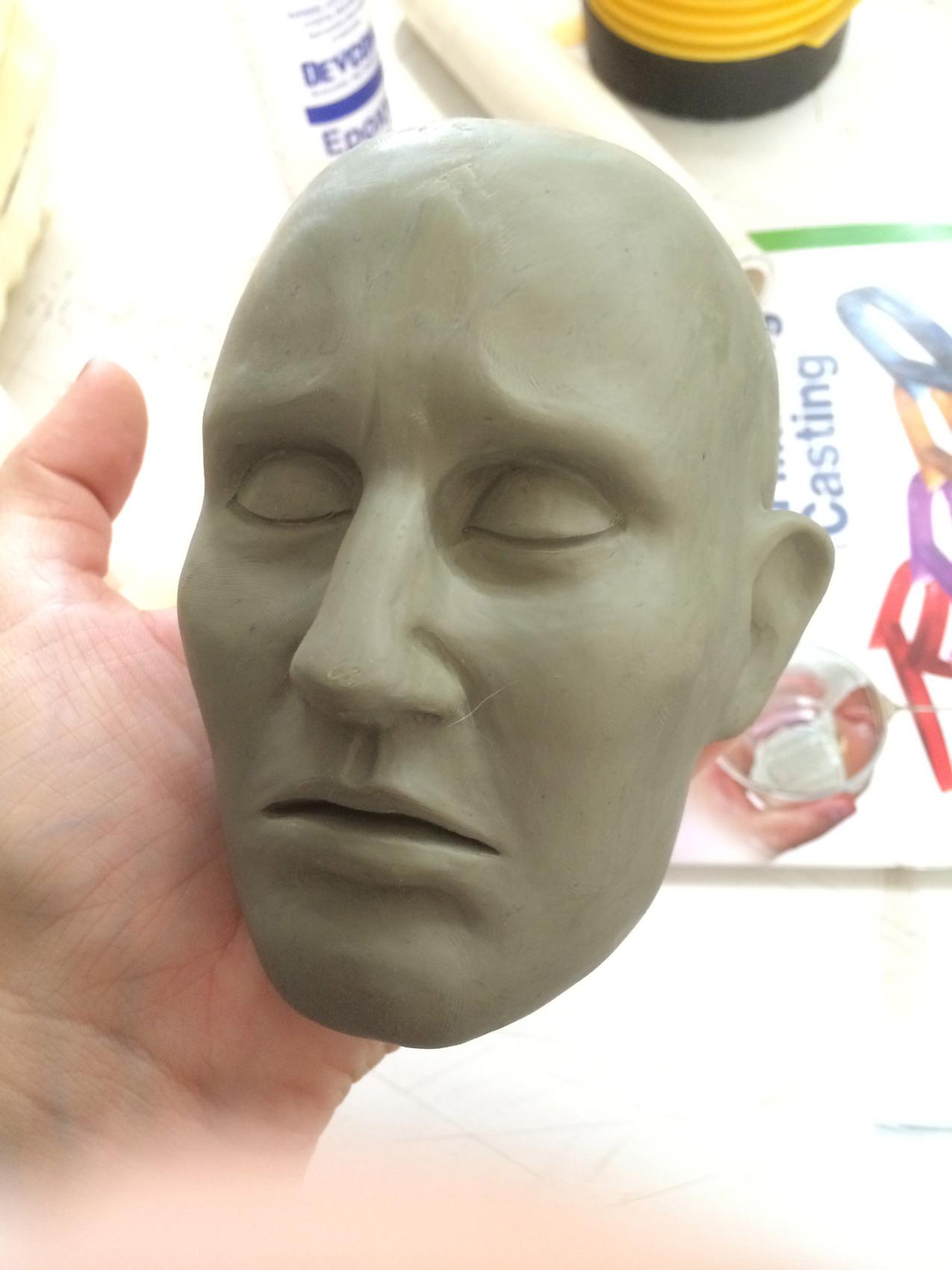 Maggie Grace head sculpt