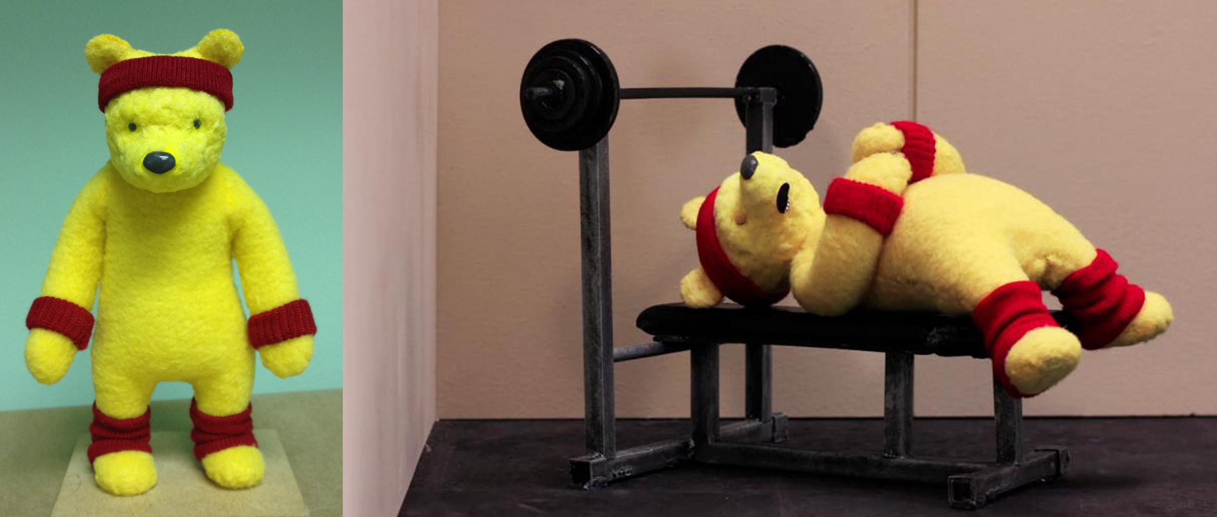 """Winnie the Pooh, """"Fattest Fat Loser."""" Still,  Robot Chicken  season 6"""