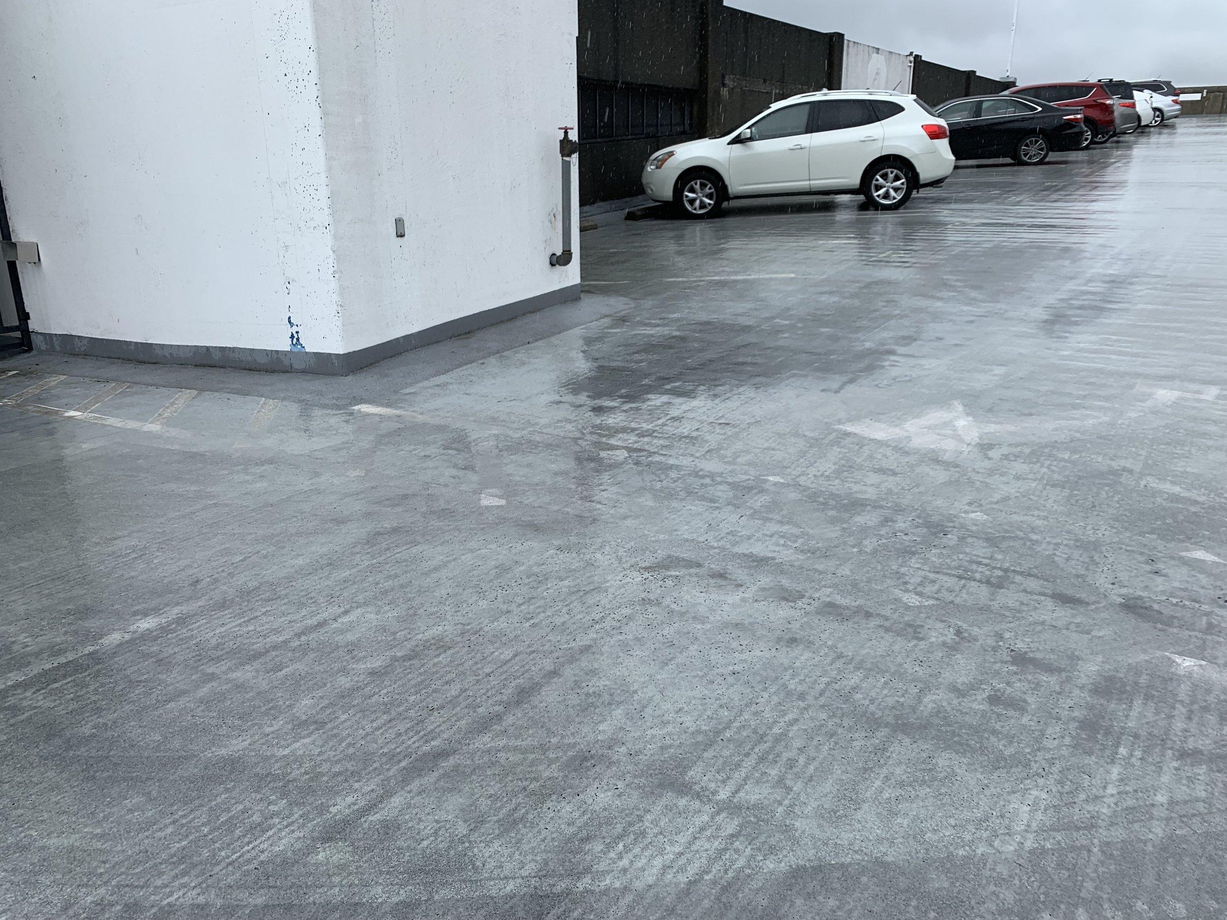 Roof Parking, Pre-Maintenance