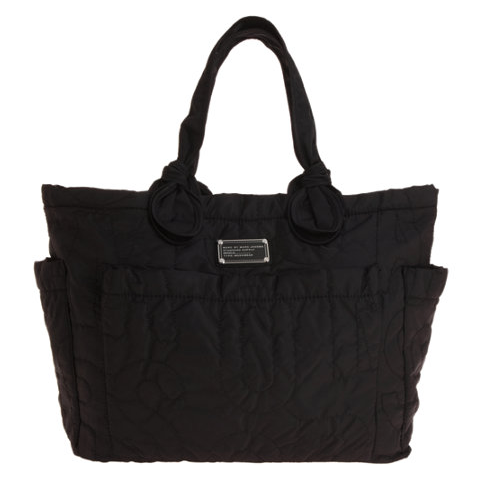 Marc By Marc Jacobs  is notorious for great bags that stand the test of trends and don't kill your bank account and  this bag  is no different. Yes it is made to be a diaper bag but when you are done it will do so much more...and chic-ly.