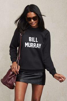 Bill Murray Sweatshirt at Reformation