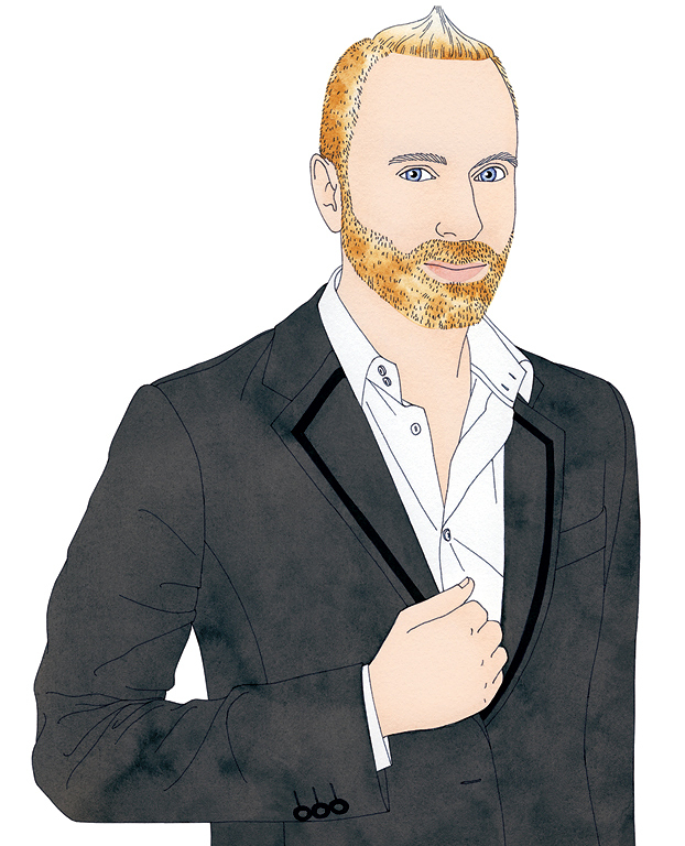 Portrait of Gregory Arlt By Missy McCullough