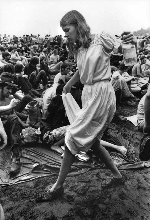 In our past life at Woodstock 1969