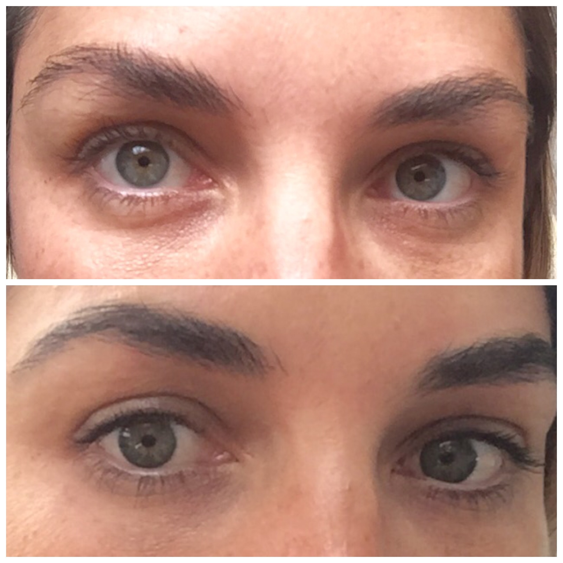 Mieke Dumont- Thingsweheart.com- The Feathered Brow Kristie Streicher- Before & After