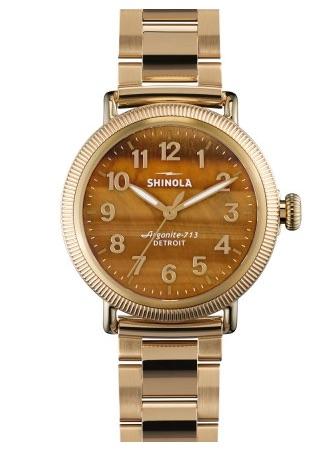 Shinola Tigers Eye Watch