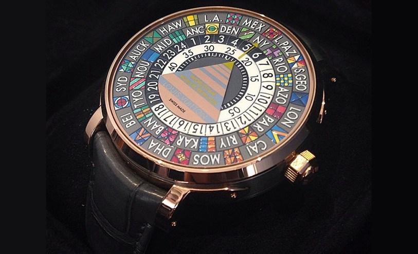 Escale Time Zone- Louis Viutton