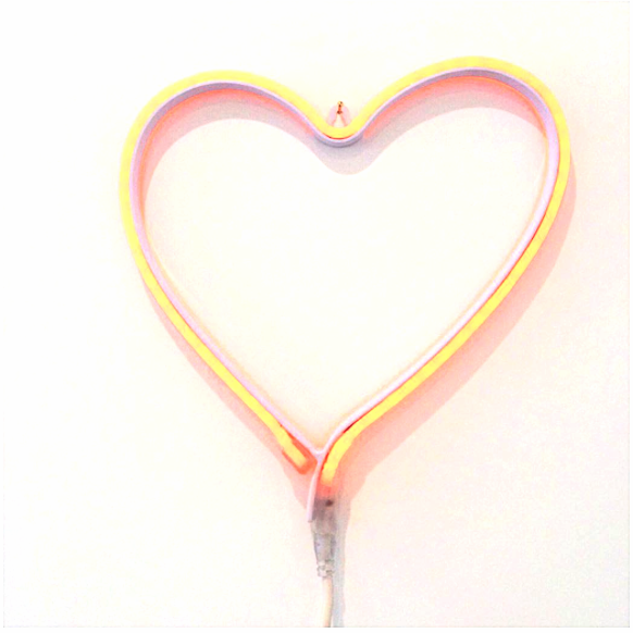 Blank wall?...Hang a piece of neon...voila!