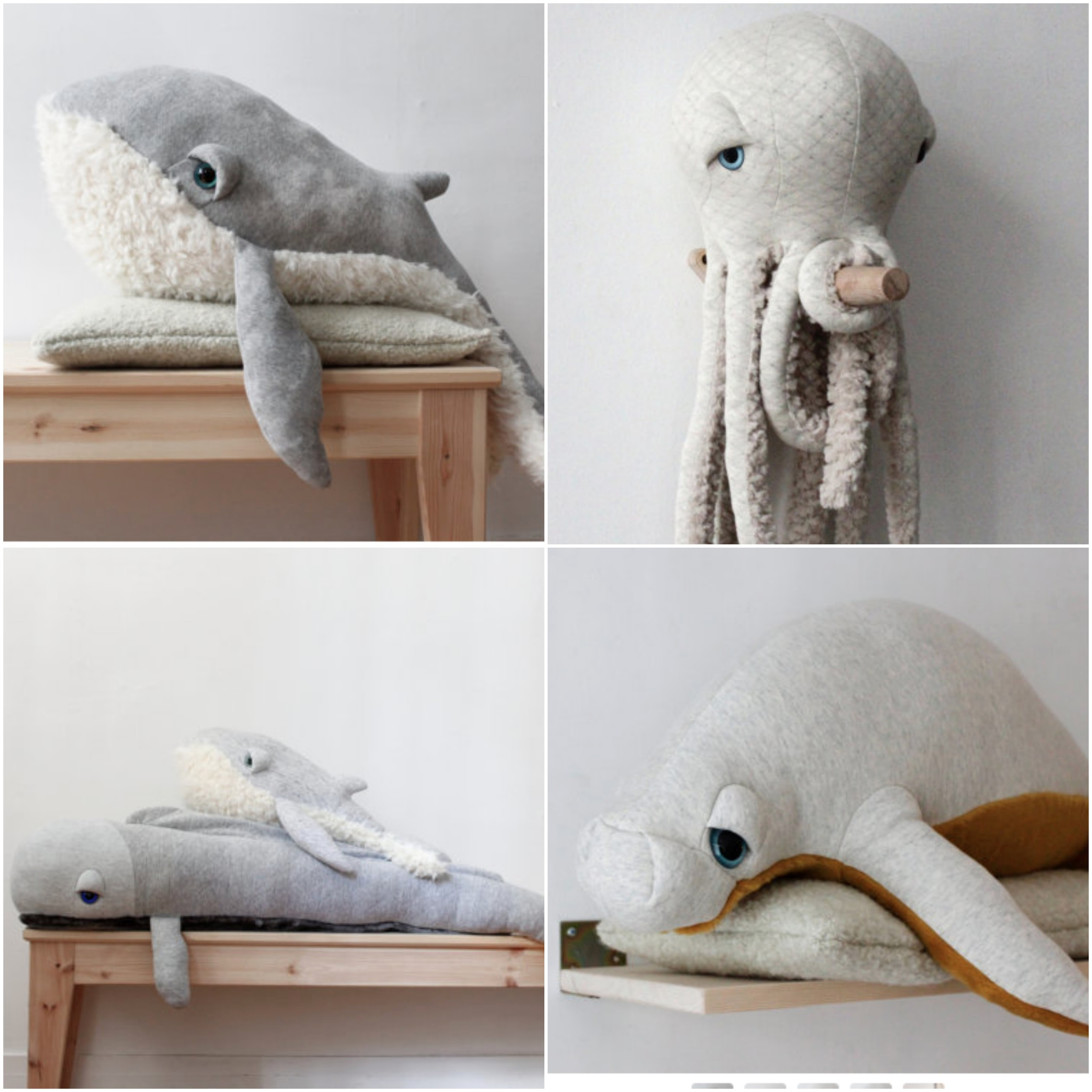Now I need a stuffed sea animal snuggle induced nap... too good.