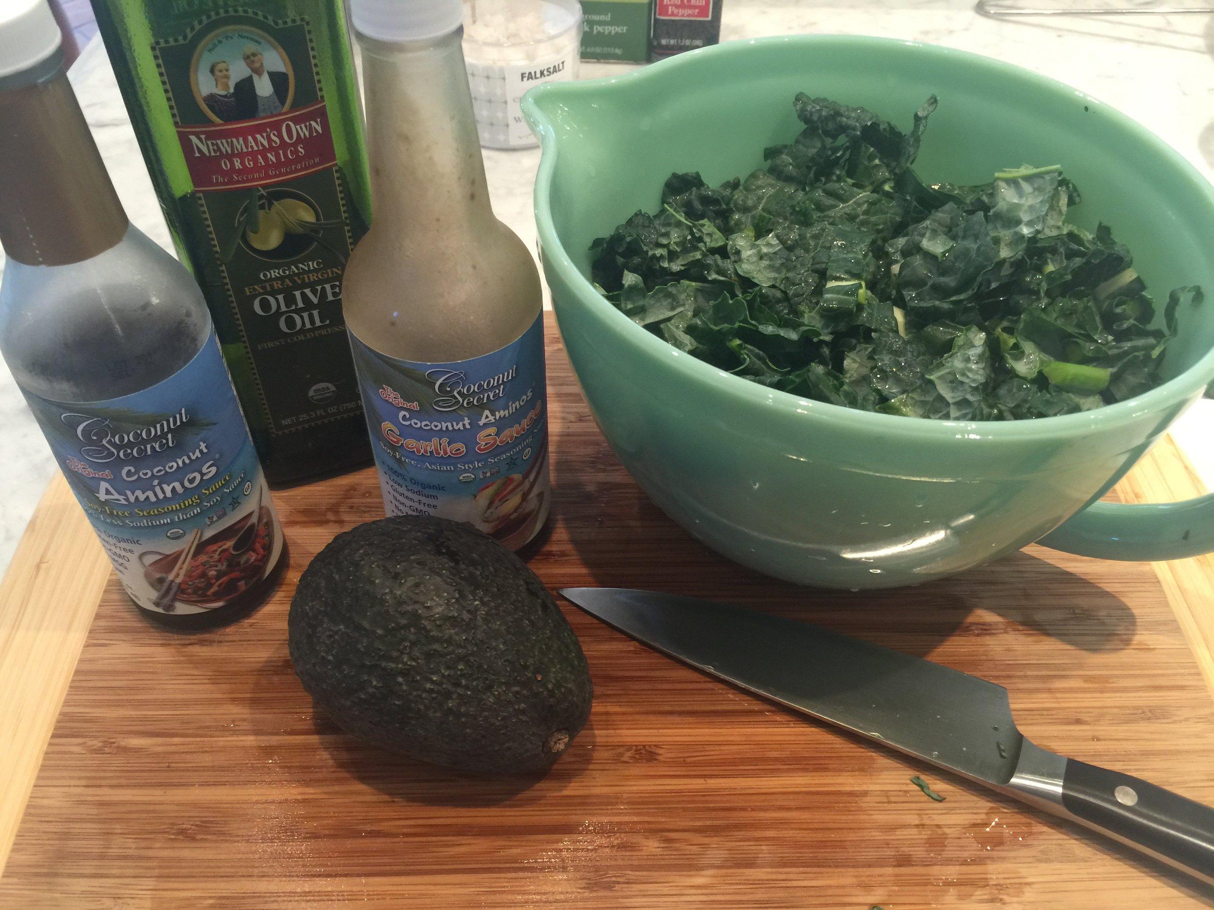 Kale prep- TWH