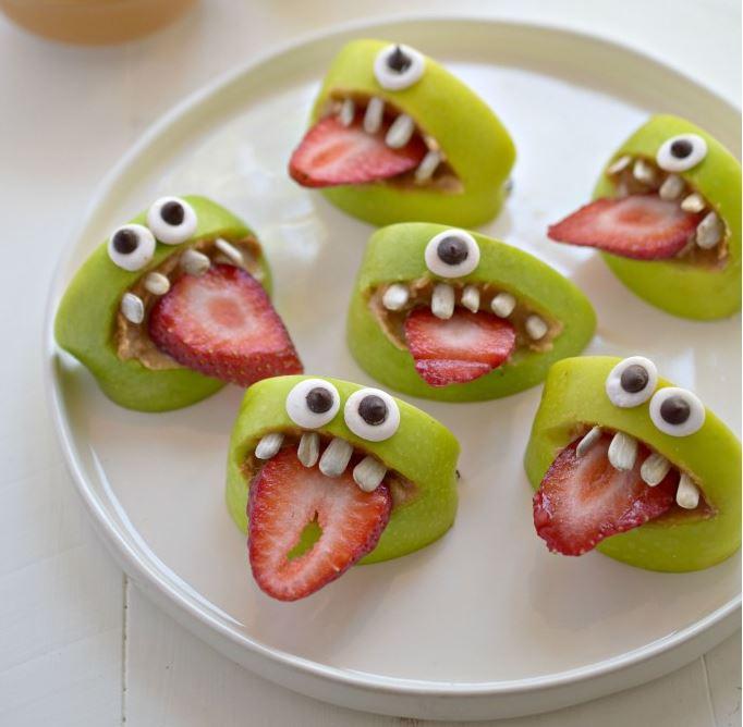 Apple monster. Via:Pinterest