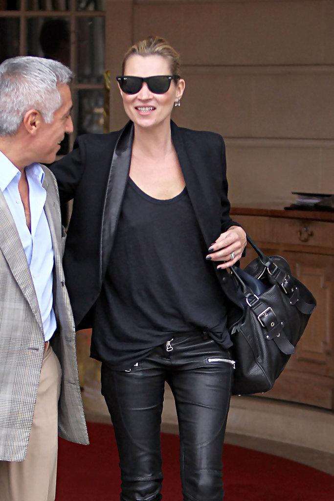 Our fashion icon wearing a fashion icon.