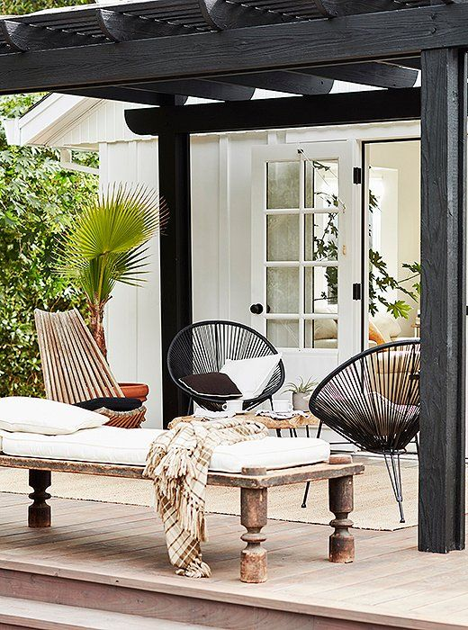 THIS IS NOT OUR PATIO! But its so dreamy and inspirational- One Kings Lane