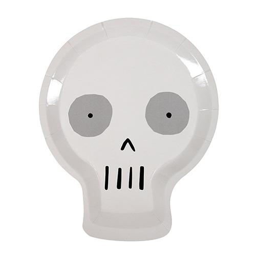 Skull Plates Cute & Creepy -