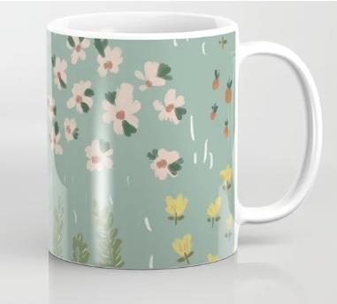 Little Fields Coffee Mug   by  NancyNoreth