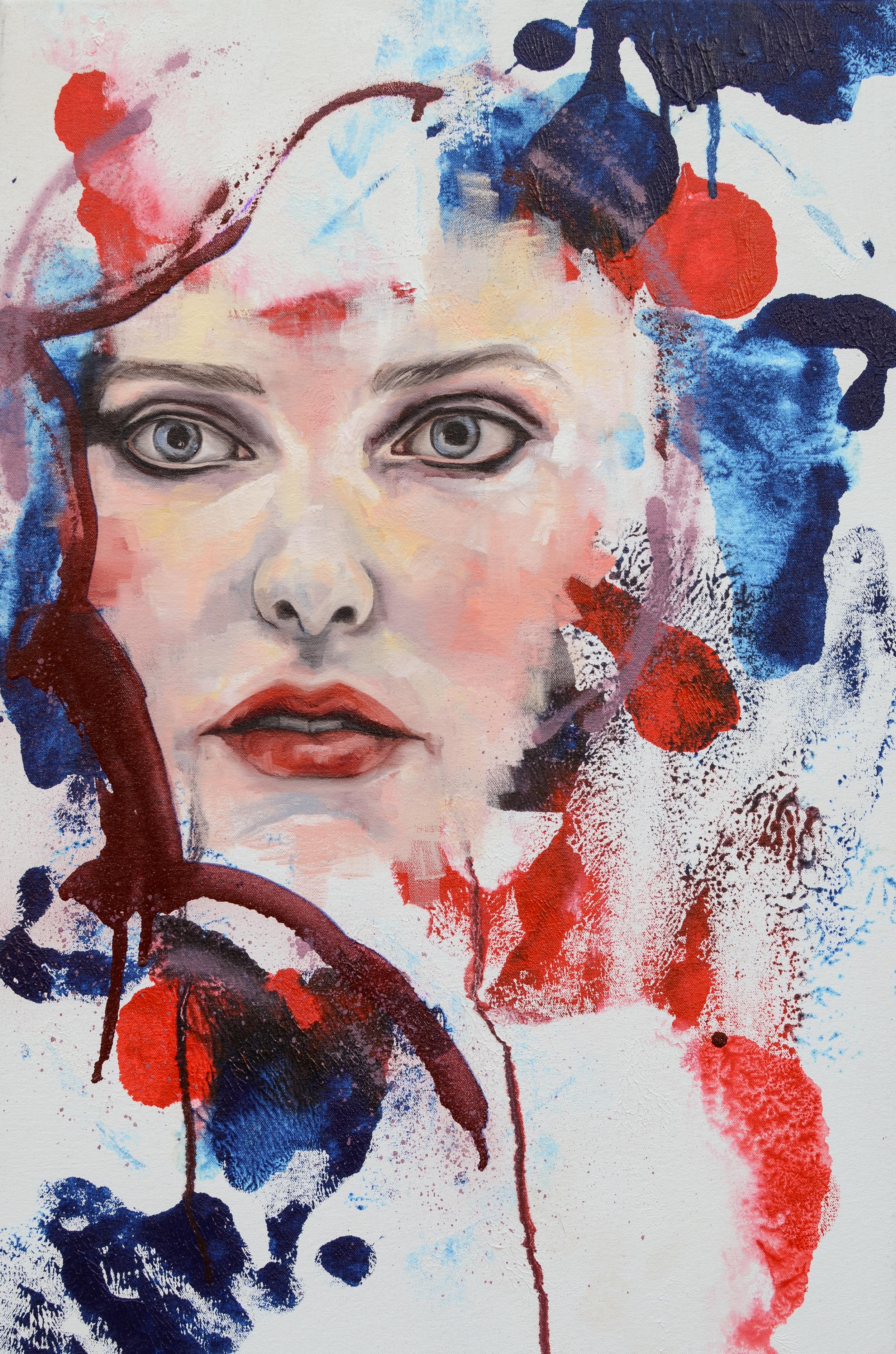 Dreamer, oil and spray enamel on canvas, 76x50cm, 2014 LG.jpg