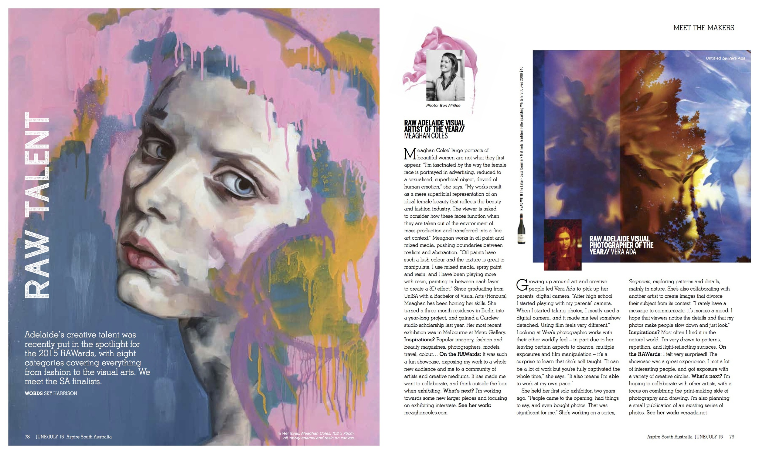 Aspire magazine interview